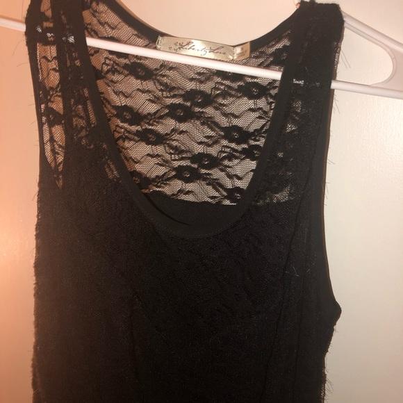 Forever 21 Dresses & Skirts - gothic, black high low dress